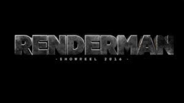 RenderMan Created