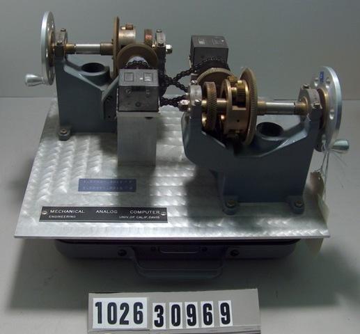 Mechancial Analog Computers