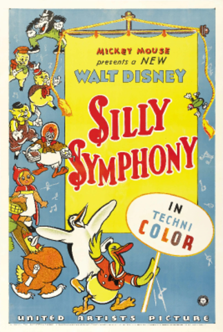 Disney creates the Silly Symphonies