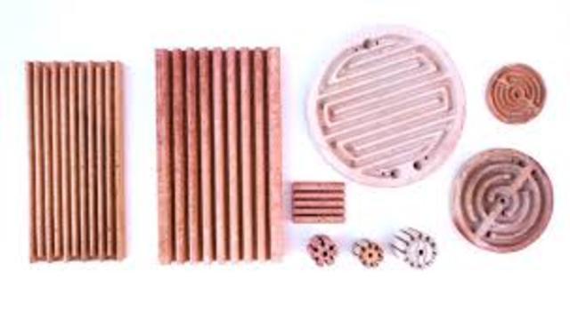 producción de aislantes eléctricos y materiales refractarios.