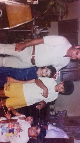 Junto a mi papa