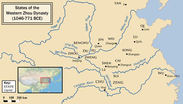 Beginning of the Zhou Dynasty