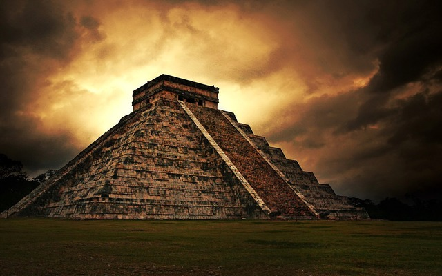 Early Mayan Villages in Mesoamerica