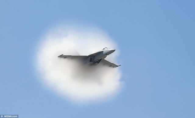 First time the sound barrier is broken