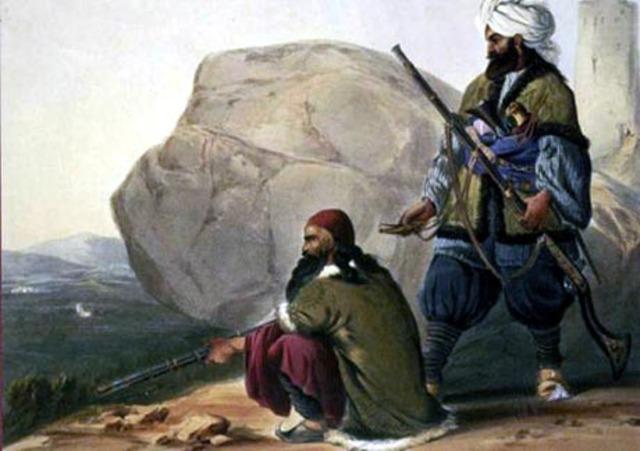 Pashtuns Revolt