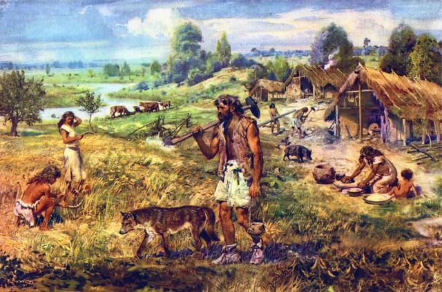 The Neolithic Revolution 10,000 years ago ~ 5000 years ago