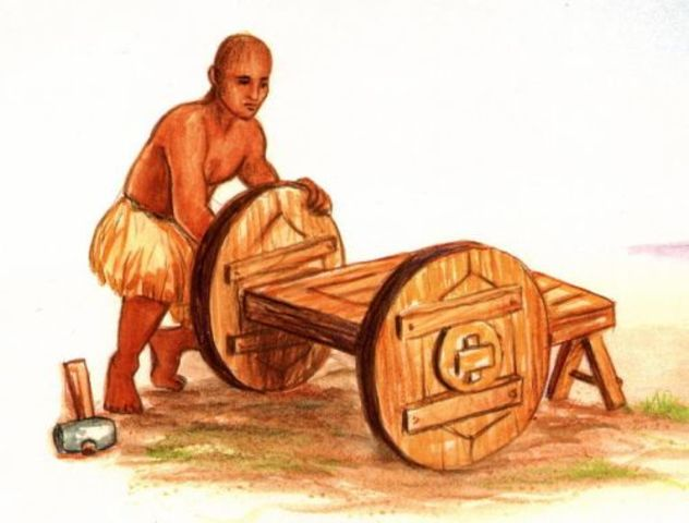 The Wheel, the plow, and bronze