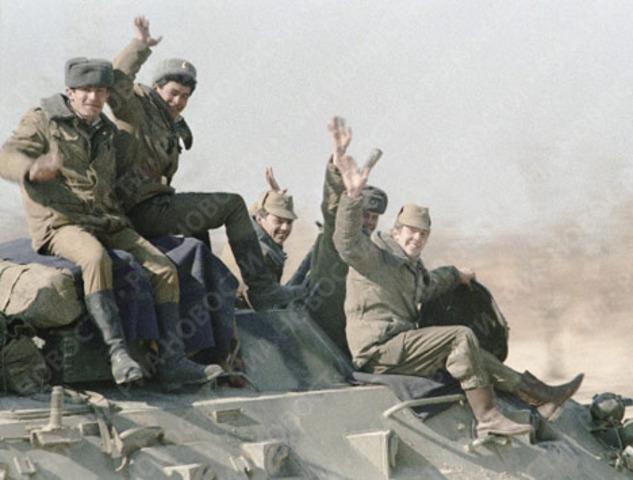Soviets Exit