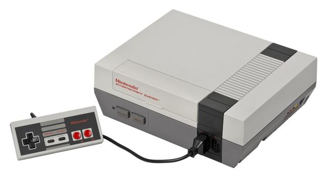 Nintendo releases the NES