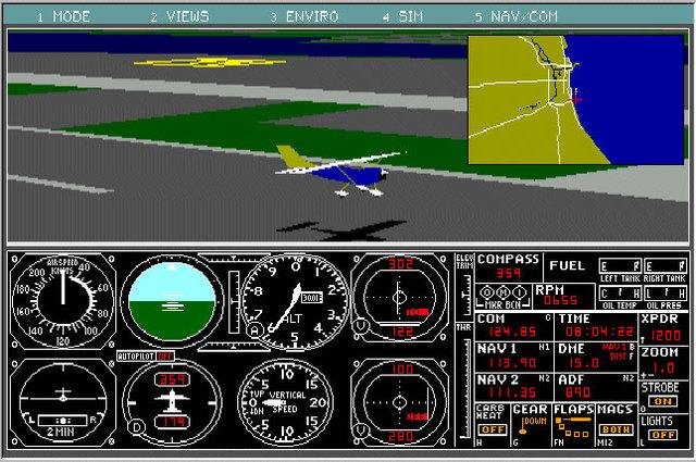 SubLOGIC release first generation Flight Simulator