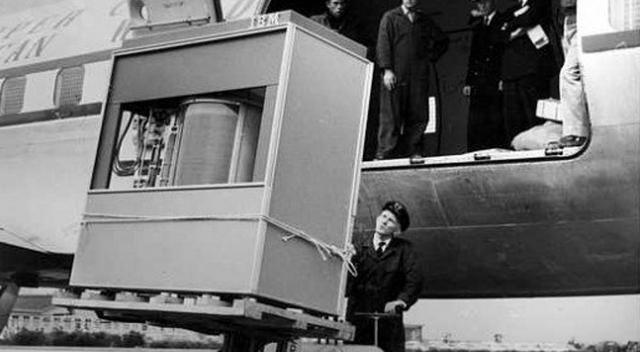 I.B.M makes first hard disk drive at 5mb