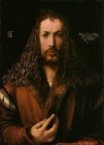 Albrecht Durer self portrait