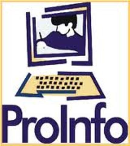 Lançamento do PROINFO pela SEED e até hoje através do Departamento DITEC (no âmbito da SEED) continua desenvolvendo os programas de Inf. na Educação.