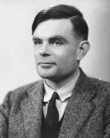 Alan Turing proposes