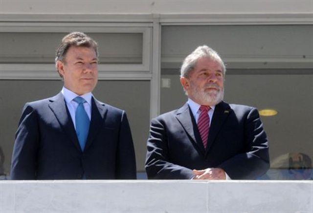 Ocho acuerdos de cooperación firmaron presidente de Brasil y Colombia