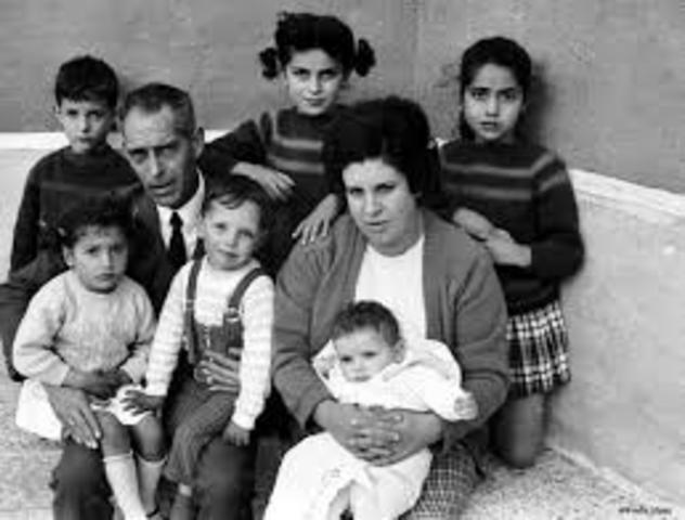 La familia en los 60
