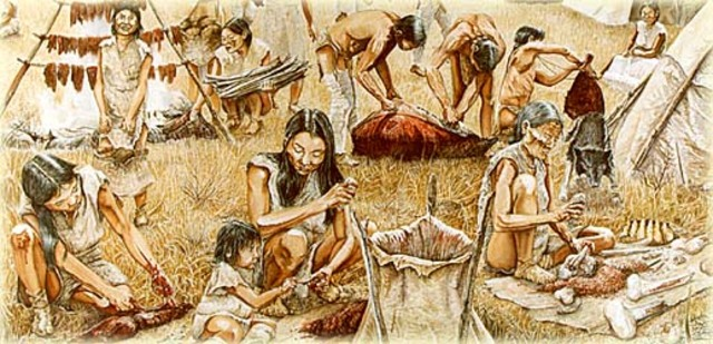 Relations between the native people