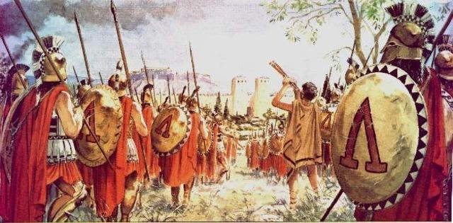 Edad antigua - Esparta.