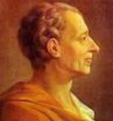 Edad moderna - Montesquieu.