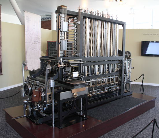 Crank-driven Calculator (The Difference Engine)