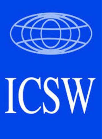 Se funda el Consejo Internacional de Bienestar Social.