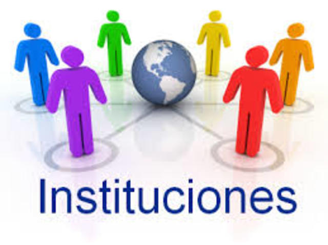 CREACIÓN DE INSTITUCIONES