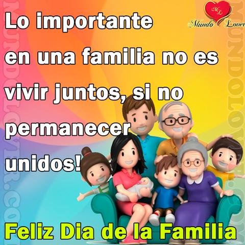 Celebración del Año Internacional de la Familia