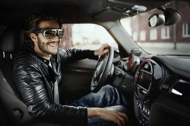 BMW, owner of MINI implements AR in cars