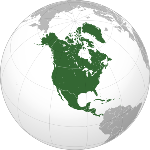 History of people in North America