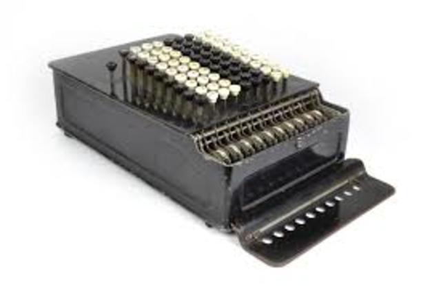 La calculadora mecánica