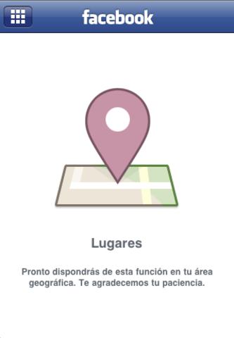 """Facebook lanza """"Lugares"""""""