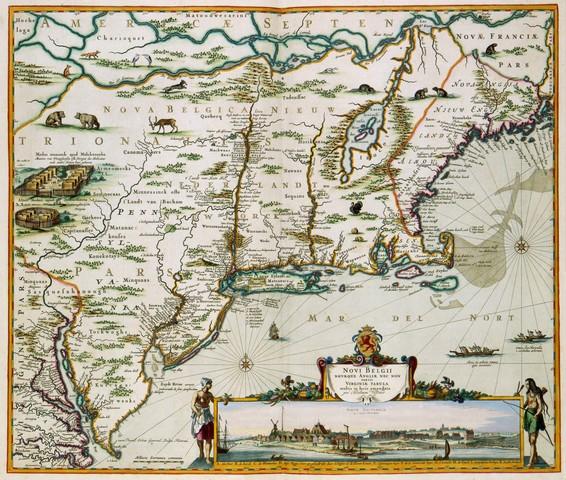 The Dutch Found New Netherland