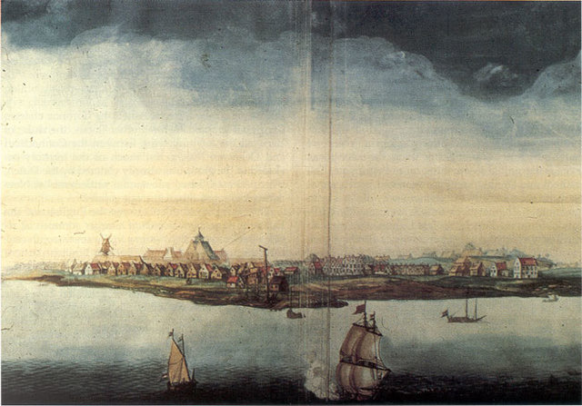 New Amsterdam Founded