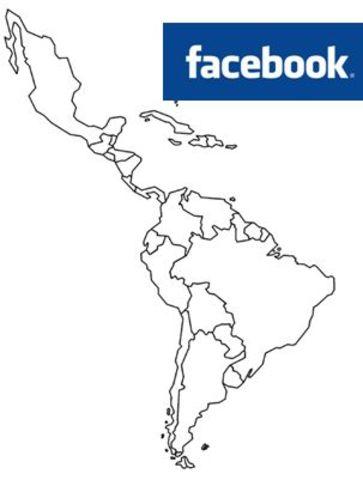 participación de Colombia en facebook