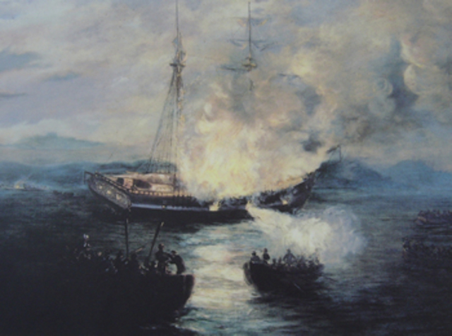The Sinking of the Gaspée