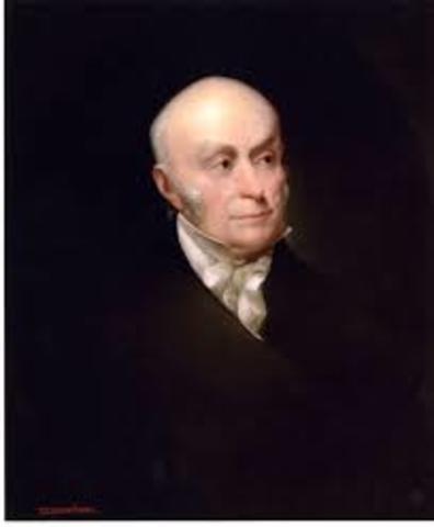 Adams Elected President