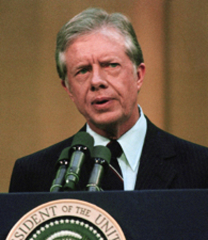 Apr. 18, 1977 - President Carter Delivers Famous Energy Speech Arguing for Conservation and Alternative Fuels