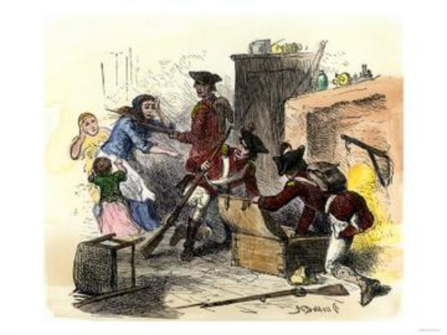 The Quartering Acts