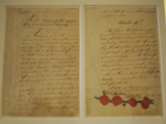 Treaty of Paris Signed