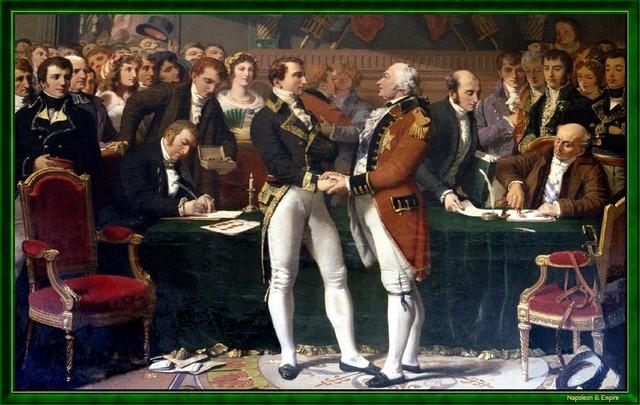 England, France Sign Treaty of Amiens