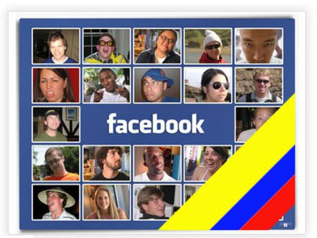 Facebook en Colombia.