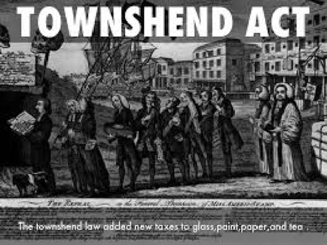 Townshend Act/duties
