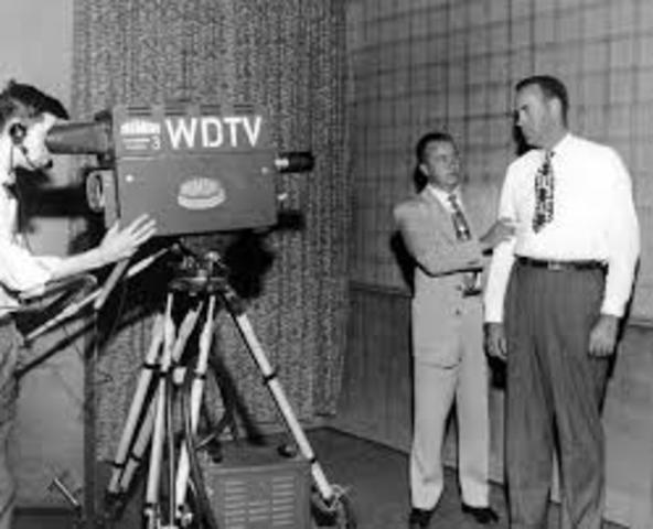 First Broadcast Program
