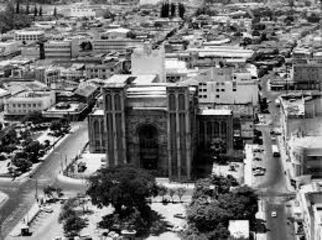 Fundación del Banco crédito territorial de El Salvador