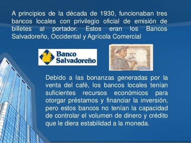 Funcionamiento de tres Bancos Locales