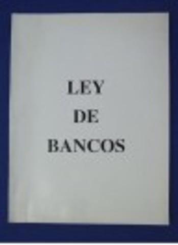Primera Ley de Bancos de Emisión
