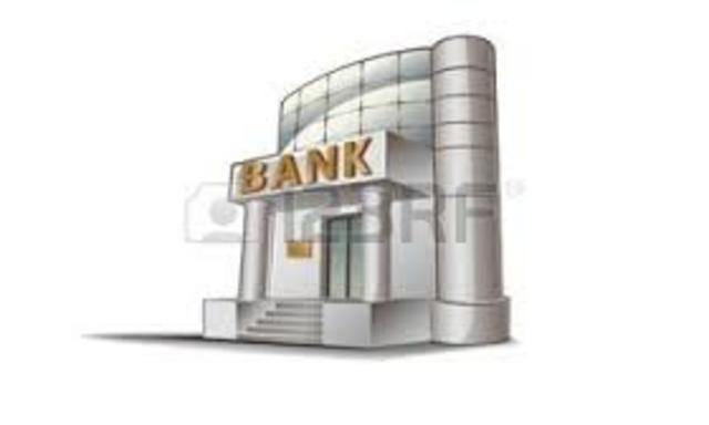 Los bancos que operaban en la década de 1970.