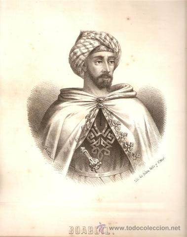 Último rey del Reino Nazarí de Granada, Muhammad Abu Abd Allah Boabdil