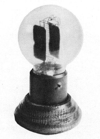 Vacuum tube or valve.