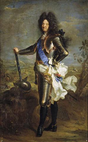 Reinado Louis XIV (1643 - 1715)